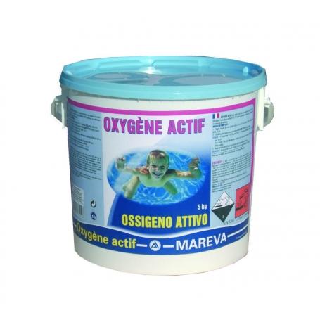 Traitement oxyg ne actif en pastilles for Traitement piscine oxygene actif