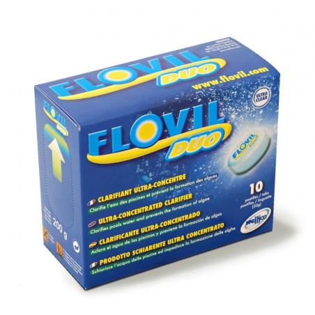 FLOVIL Duo : Floculant + Anti-algues - Weltico