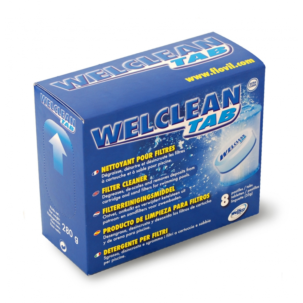 Nettoyant filtres welclean weltico for France accessoires piscines