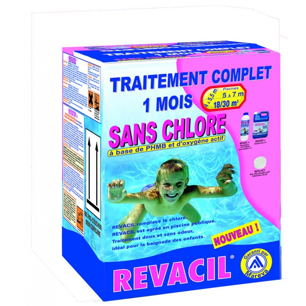 Traitement piscine chlore for Traitement piscine
