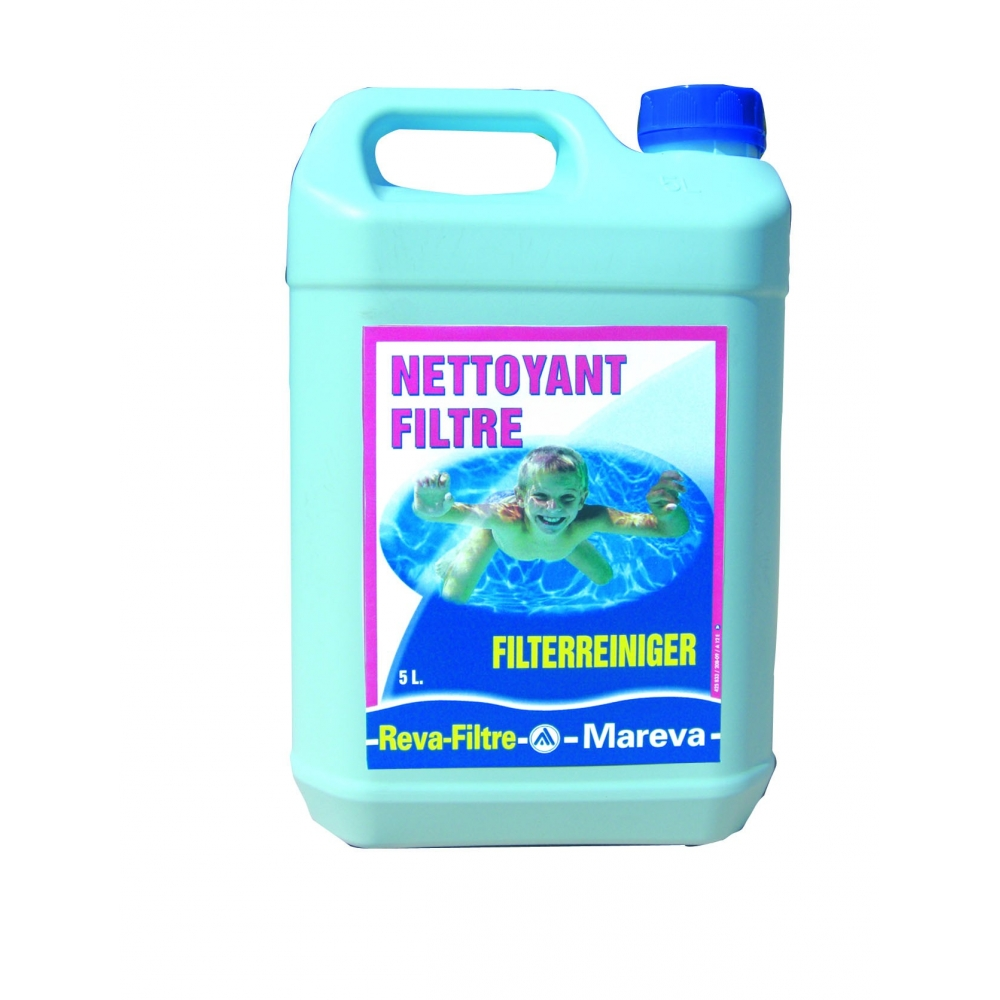 Nettoyant filtres reva filtre mareva for Filtre piscine