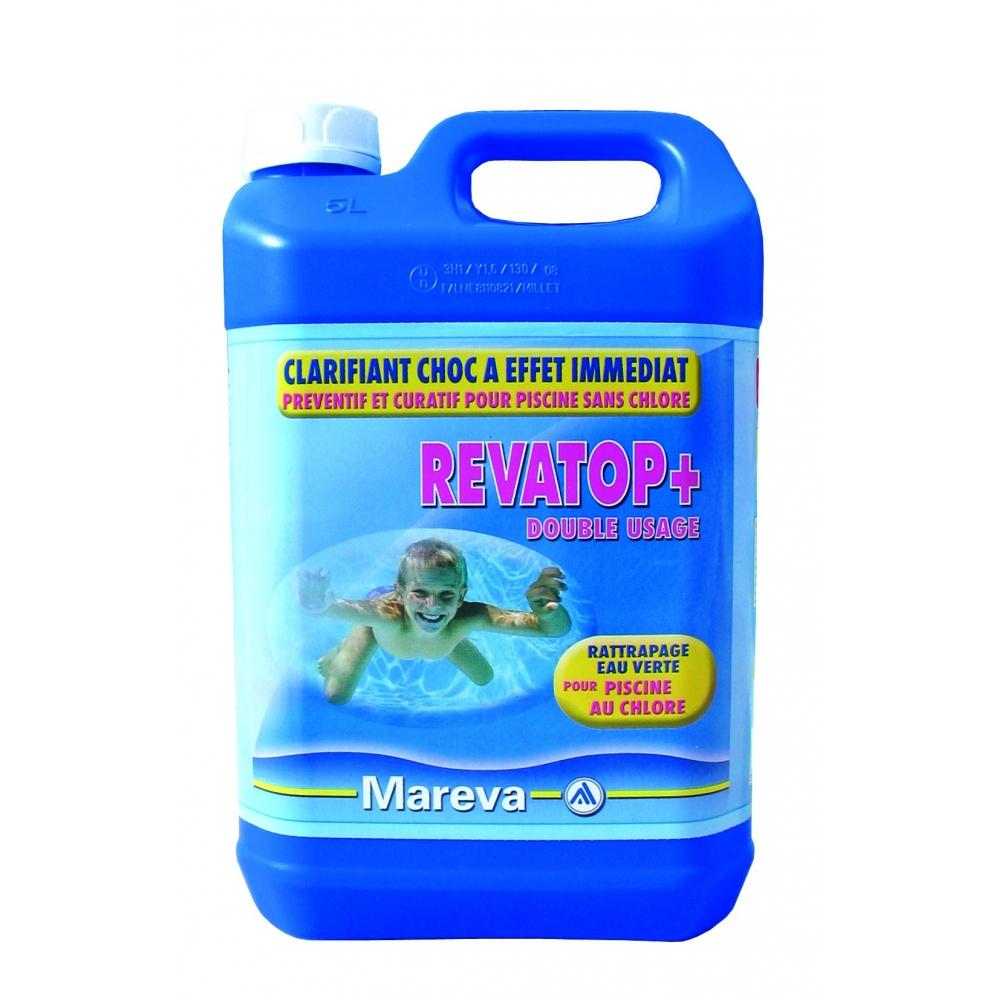 Rattraper une piscine verte avec revatop de mareva for Oxygene actif piscine verte